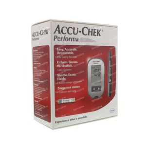 Accu-Chek Performa mg/dl Startkit 1 stuk