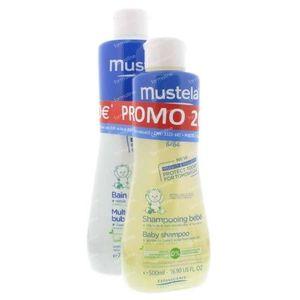 Mustela Baby Tonisch Badschuim en Shampoo 1250 ml