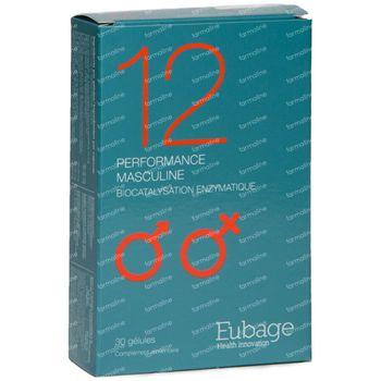 Eubage Mannelijk Prestatievermogen Nr 12 30 capsules