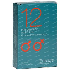 Eubage Performance Masculin Nr 12 30 capsules