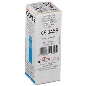Odm5 Oogoplossing Flacon 10 ml