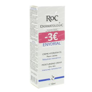 Roc Enydrial Hydraterende Gezichtscrème 40 ml