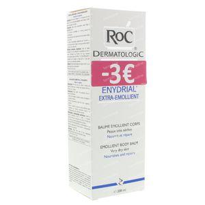 Roc Enydrial Extra-Emollient Body Balm Zeer Droge Huid Verlaagde Prijs 200 ml tube