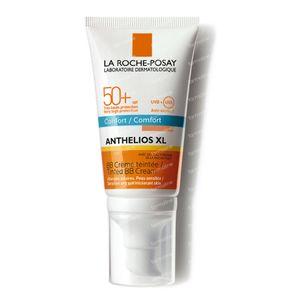 La Roche-Posay Anthélios 50+ XL Getinte Zonnecrème (met parfum) 50 ml