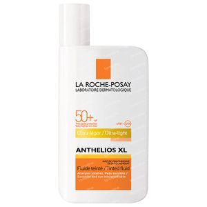 La Roche-Posay Anthélios 50+ XL Ultra Lichte, Getinte Zonnefluide (met parfum) 50 ml