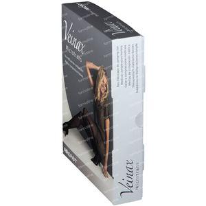Veinax Bas Genou Microfibre Noir Classe 2 Taille 3 1 pièce