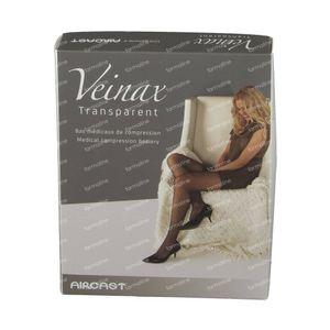 Veinax Bas Genou Transparent Noir Classe 2 Taille 4 1 pièce