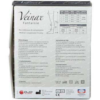 Veinax Genou Diamond Noir Classe 2 Taille 2 1 pièce