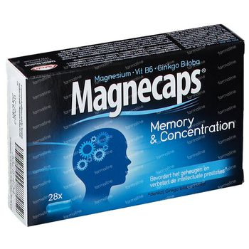 Magnecaps Memory & Concentration 28 capsules