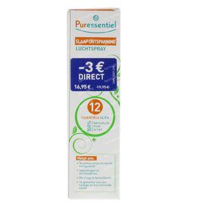 Puressentiel Slaap Ontspannend 12 Essentiële Olie 75 ml spray