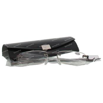Pharma Glasses Leesbril Rimless Gun +2.50 1 stuk