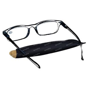 Pharma Glasses Leesbril Donker Blauw +4.00 1 stuk