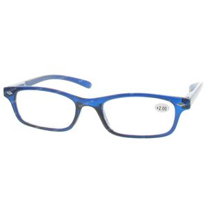Pharma Glasses Leesbril Donker Blauw +2.00 1 stuk
