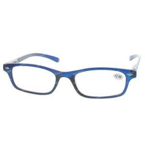 Pharma Glasses Leesbril Donker Blauw +2.50 1 stuk