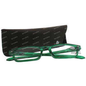 Pharma Glasses Leesbril Groen +2.50 1 stuk