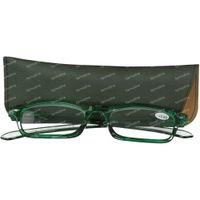 Pharma Glasses Leesbril Groen +3.00 1 st