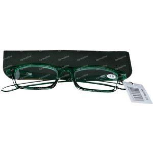 Pharma Glasses Leesbril Groen +3.50 1 stuk