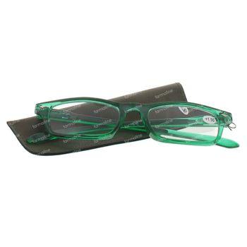 Pharma Glasses Leesbril Groen +1.50  1 stuk