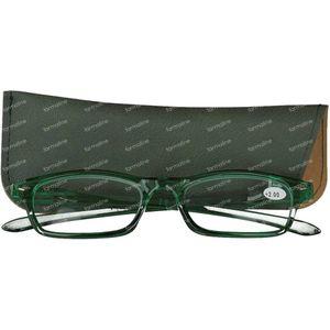 Pharma Glasses Leesbril Groen +2.00 1 stuk