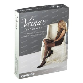 Veinax Hold Up Cuisse Transparant Classe 1 Noir Taille 2 1 paire