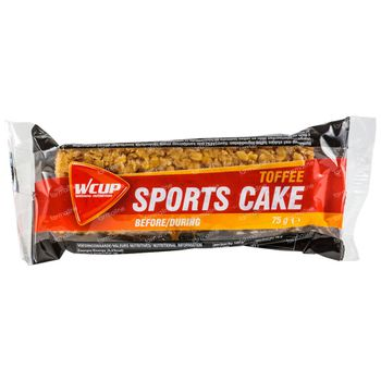 Wcup Sports Cake Toffee 75 g