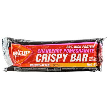 Wcup Crispy Barre Canneberge Grenadier 40 g