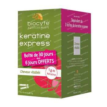 Biocyte Keratine Express Sticks Pack 30x6 g