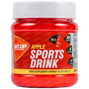 WCUP Sports Drink Appel 480 g