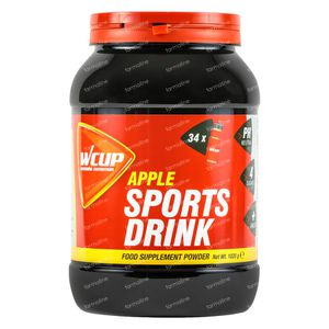 WCUP Sports Drink Appel 1020 g