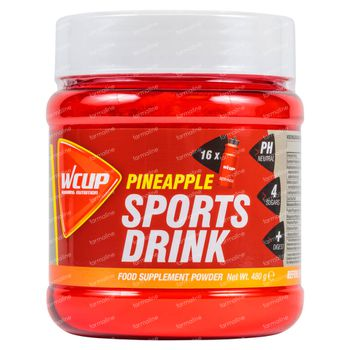 Wcup Sports Drink Ananas 480 g