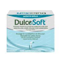 Dulcosoft Poudre pour Solution Buvable - Pour Constipation 20  sachets
