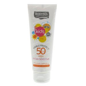 Bodysol Zonnecrème Visiprotect Kinderen Spf50 125 ml