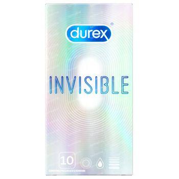 Durex Invisible Extra Fin Préservatifs 10 pièces