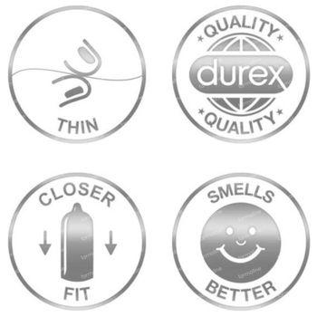 Durex Invisible Extra Dun Condooms + Extra Glijmiddel 10 stuks