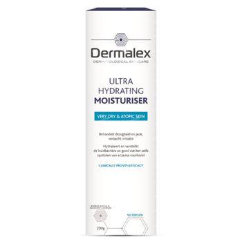 Dermalex Ultra Hydrating Moisturiser - Droge Huid 200 g