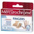 Mercurochrome Pleister Vingers 12 stuks