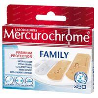 Mercurochrome Pansement Famille 50 st