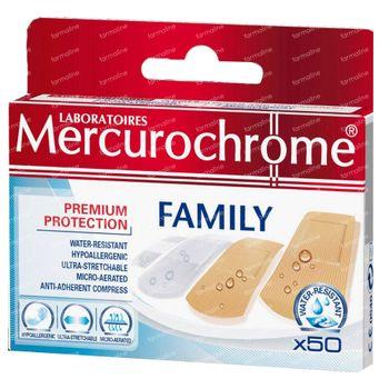 Mercurochrome Pleister Family 50 st