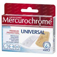 Mercurochrome Pansement Universal 20 st