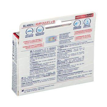 Mercurochrome Pansements Hydrocolloïdes Ampoules 6 pièces