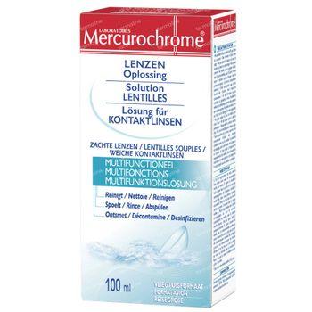 Mercurochrome Solution Lentilles 100 ml