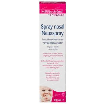 Mercurochrome Pitchoune Spray Nasal 150 ml