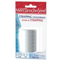 Mercurochrome Strapping Steunverband 1 stuk