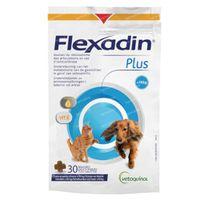 Flexadin Plus Hond en Kat <10kg 30  kauwtabletten
