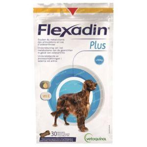 Flexadin Plus Hond >10kg 30 kauwtabletten