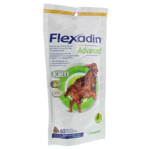 Flexadin Advanced Veterinair 60 kauwtabletten