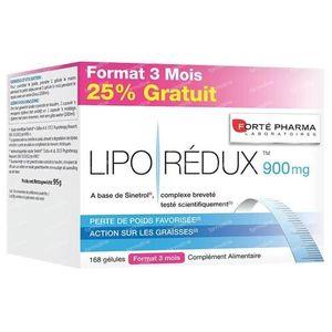 Forté Pharma Liporedux 900mg Promopack 168 St Capsules