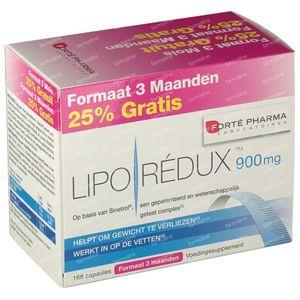 Forté Pharma Liporedux 900mg Promopack 168 capsules
