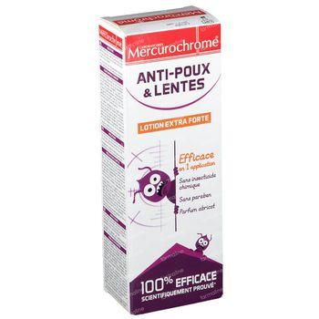 Mercurochrome Lotion Extra Forte Anti-Poux & Lentes 100 ml