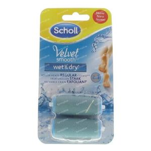 Velvet smooth wet & dry navulling 1 stuk